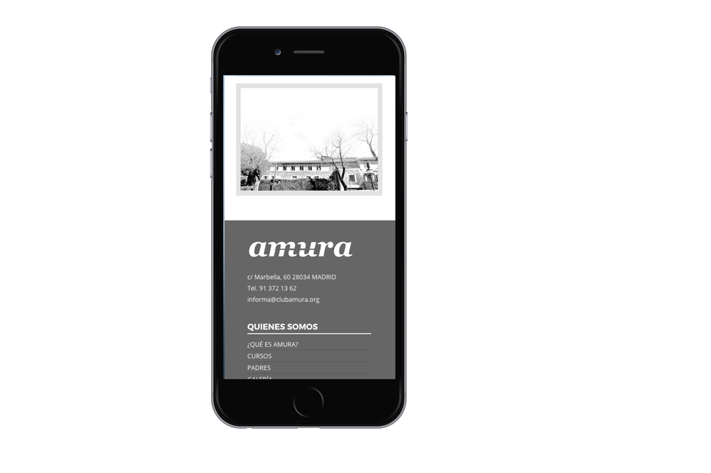Amura-web-movil